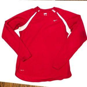 Nike Dri Fit Long Sleeve Top
